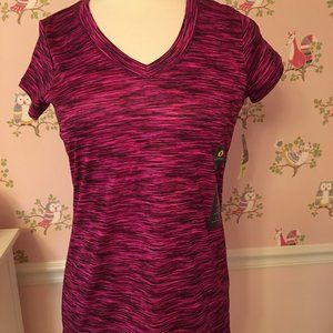 NWT XERSION SHORT SLEEVE WORKOUT TOP S!